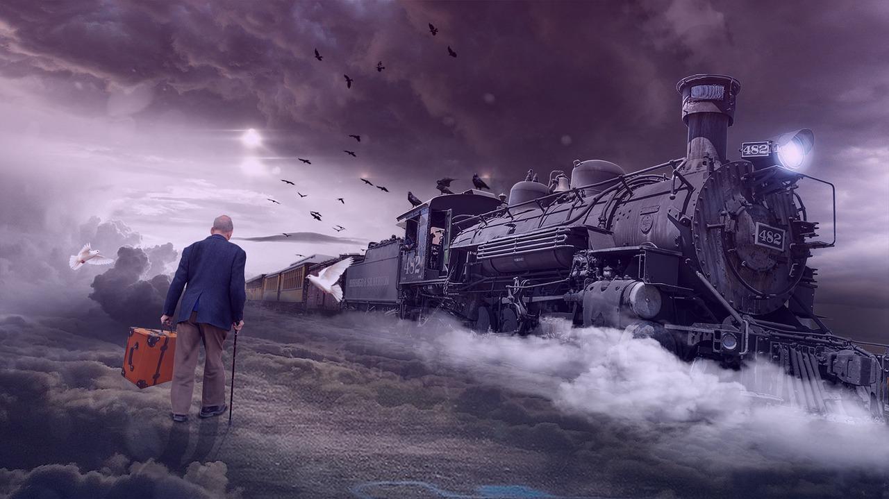 حلم القطار في المنام